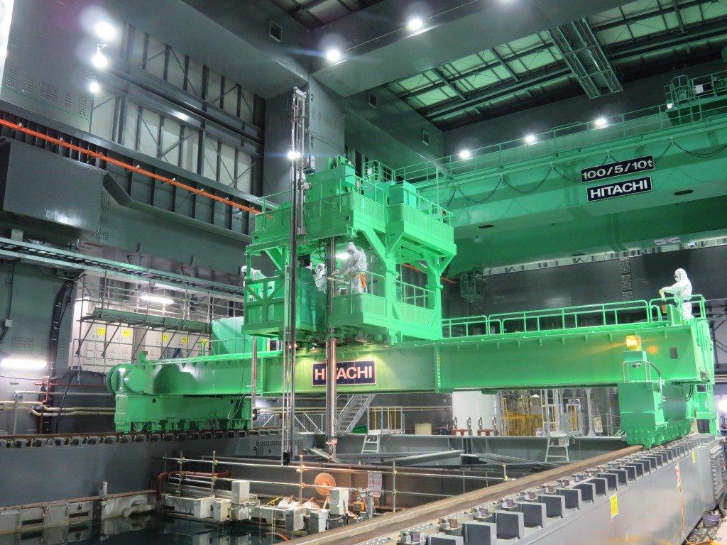 Fukushima: le retrait des combustibles nucléaires va commencer dans Info 131115_05